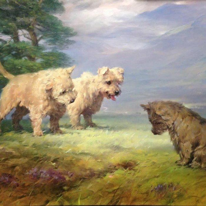 Sulkowski, Joseph, untitled, 26.5 x 33 oil, 2018 sml